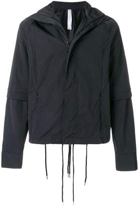 Cottweiler drawstring detail hooded jacket