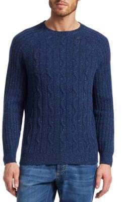 Brunello Cucinelli Donegal Cable-Knit Sweater