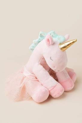 Baby Aspen Rosie the Unicorn Plush with Tutu