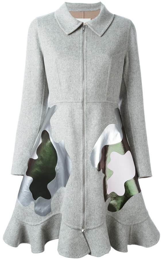 Mary Katrantzou 'Jade' coat