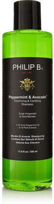 Philip B Peppermint And Avocado Volumizing & Clarifying Shampooo, 350ml - Colorless