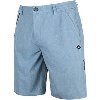 "Rip Curl Men's Mf Global Entry 20"" Boardwalk Hybrid Travel Stretch Shorts"