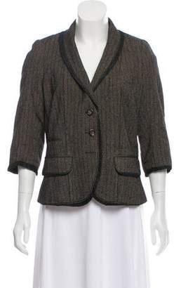 Louis Vuitton Structured Button-Up Blazer