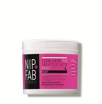 Nip + Fab Nip & Fab Nip+Fab Teen Skin Salicylic Acid Night 60 Pads - Nude