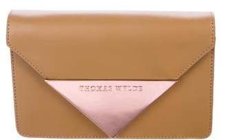 Thomas Wylde Leather Envelope Clutch
