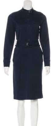 Marc Jacobs Denim Midi Dress