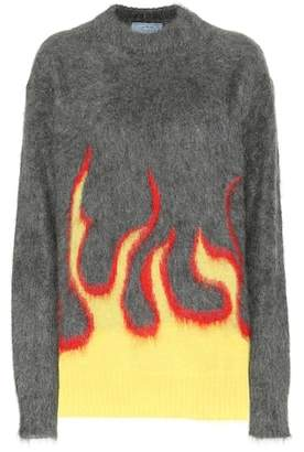 Prada Mohair and wool-blend sweater