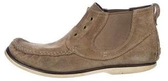 John Varvatos Suede Ankle Boots
