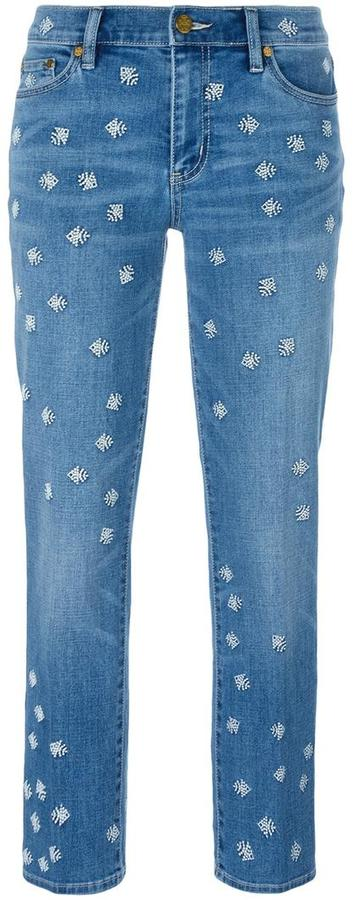 Tory Burch Tory Burch embroidered jeans
