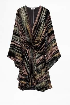 Zadig & Voltaire Dress Ruffle Velours