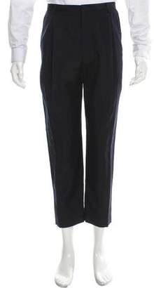 Deveaux Cropped Linen & Wool-Blend Pants w/ Tags