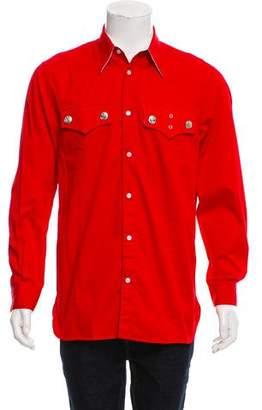 Calvin Klein Western Button-Up Show