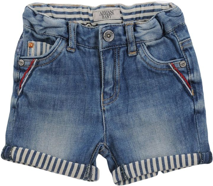 Armani Junior ARMANI JUNIOR Denim bermudas