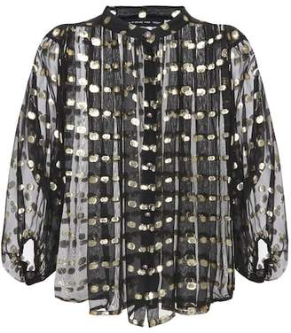 Etro Silk-blend blouse