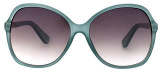 A New Day Women's Smoke Sunglasses Crystal Aqua