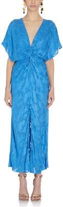 Prabal Gurung Jackie Knot Front Dress in Blue