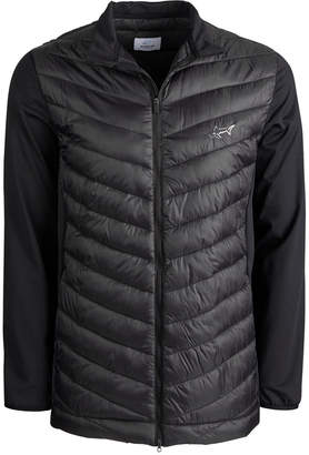 Greg Norman Attack Life by Men's Hybrid Puffer Jacket