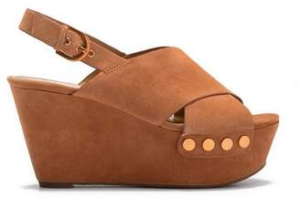 Marc Fisher Barlow Wedge Sandal (Women)