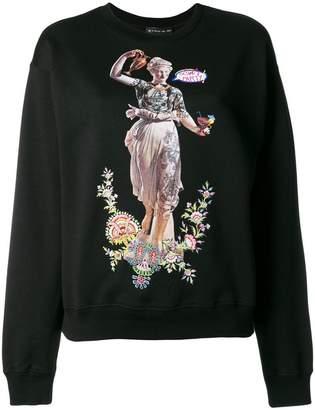 Etro embroidered graphic sweatshirt