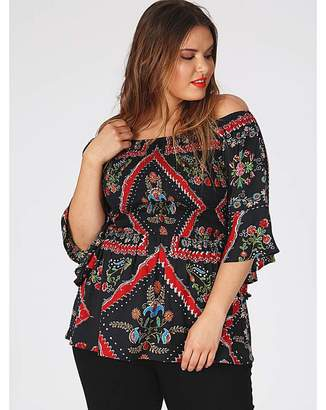 d5f699b91bf2b Women s Plus Size Bell Sleeve Tops - ShopStyle UK