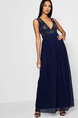 boohoo Boutique Embellished Maxi dress