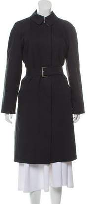 Burberry Nova Check-Lined Trench Coat