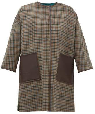 Max Mara Pareo Coat - Womens - Brown Multi