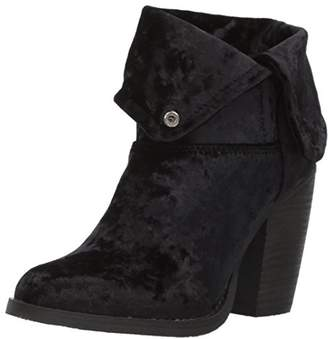 Sbicca Women's Velveteen Ankle Bootie