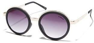 Liive Vision New Women's Anna Womens Sunglasses Glass Gold Matt Black N/A