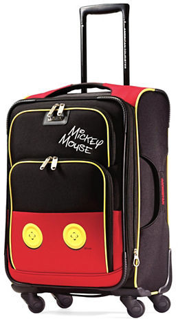 American TouristerAmerican Tourister Mouse Pants Softside Spinner- 21 in.