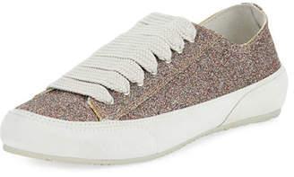 Pedro Garcia Parson Glitter Low-Top Lace-Up Sneaker