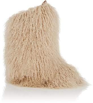 Saint Laurent Women's Booly Fur Ankle Boots