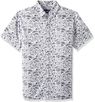 Robert Graham Men's Booker Short Sleeve Slim FIT Shirt