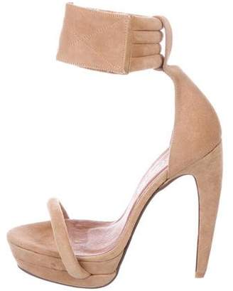 Jeffrey Campbell Latifa Suede Sandals w/ Tags