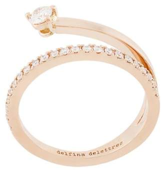 Delfina Delettrez 18kt champagne gold Marry Me diamond ring
