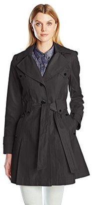 Via Spiga Women's Skirted Single Breasted Trench Coat $203.70 thestylecure.com