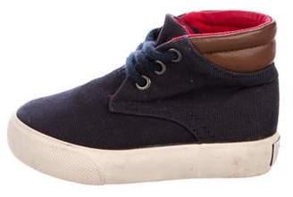 Polo Ralph Lauren Boys' Canvas High-Top Sneakers
