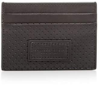Bottega Veneta Perforated Leather Card Case
