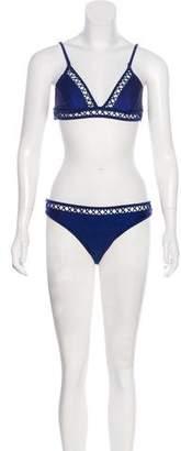 OndadeMar Triangle Two-Piece Swimsuit w/ Tags
