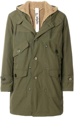 Equipe '70 hooded parka