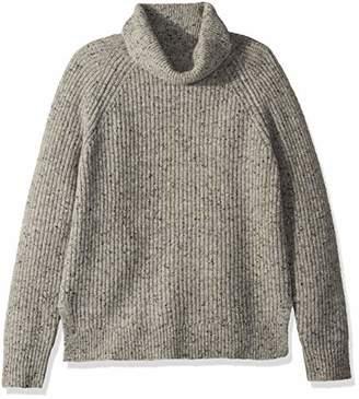 J.Crew Mercantile Women's Chunky-Knit Turtleneck Sweater