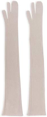 Maison Margiela long split finger gloves Outlet Store For Sale dxmtsuU