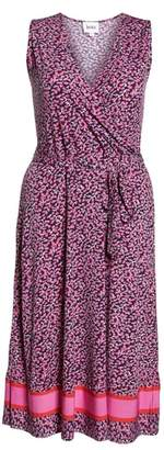 Leota Justine Sleeveless Midi Dress