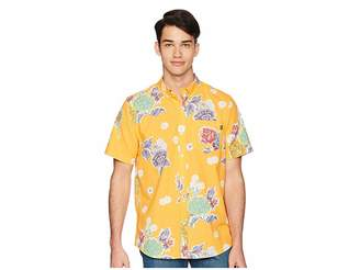 HUF Botanical Floral Short Sleeve Shirt
