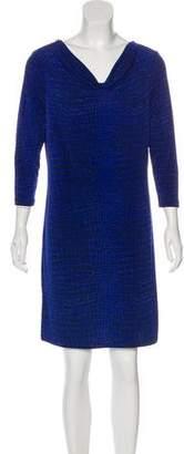 MICHAEL Michael Kors Long Sleeve Printed Dress