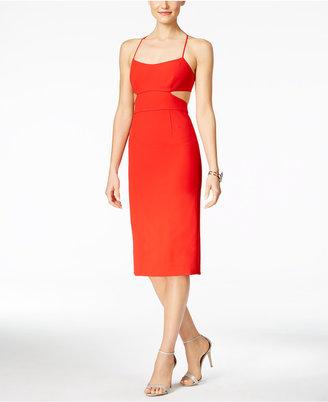 Jill Jill Stuart Cutout Open-Back Sheath Dress $338 thestylecure.com