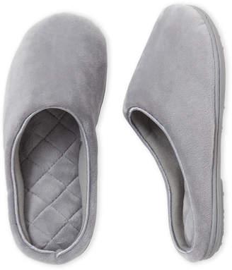 Dearfoams Microfiber Clog Slippers