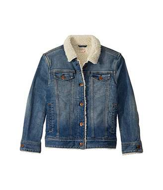J.Crew crewcuts by Sherpa Denim Jacket (Toddler/Little Kids/Big Kids)