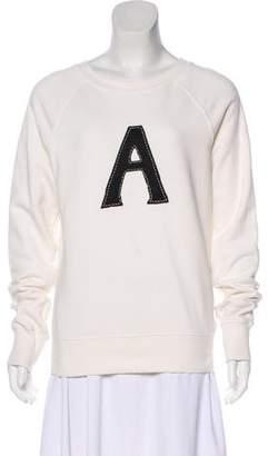 ALEXACHUNG x AG Oversize Knit Sweater