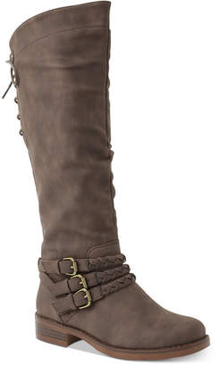 XOXO Marcus Tall Riding Boots Women Shoes